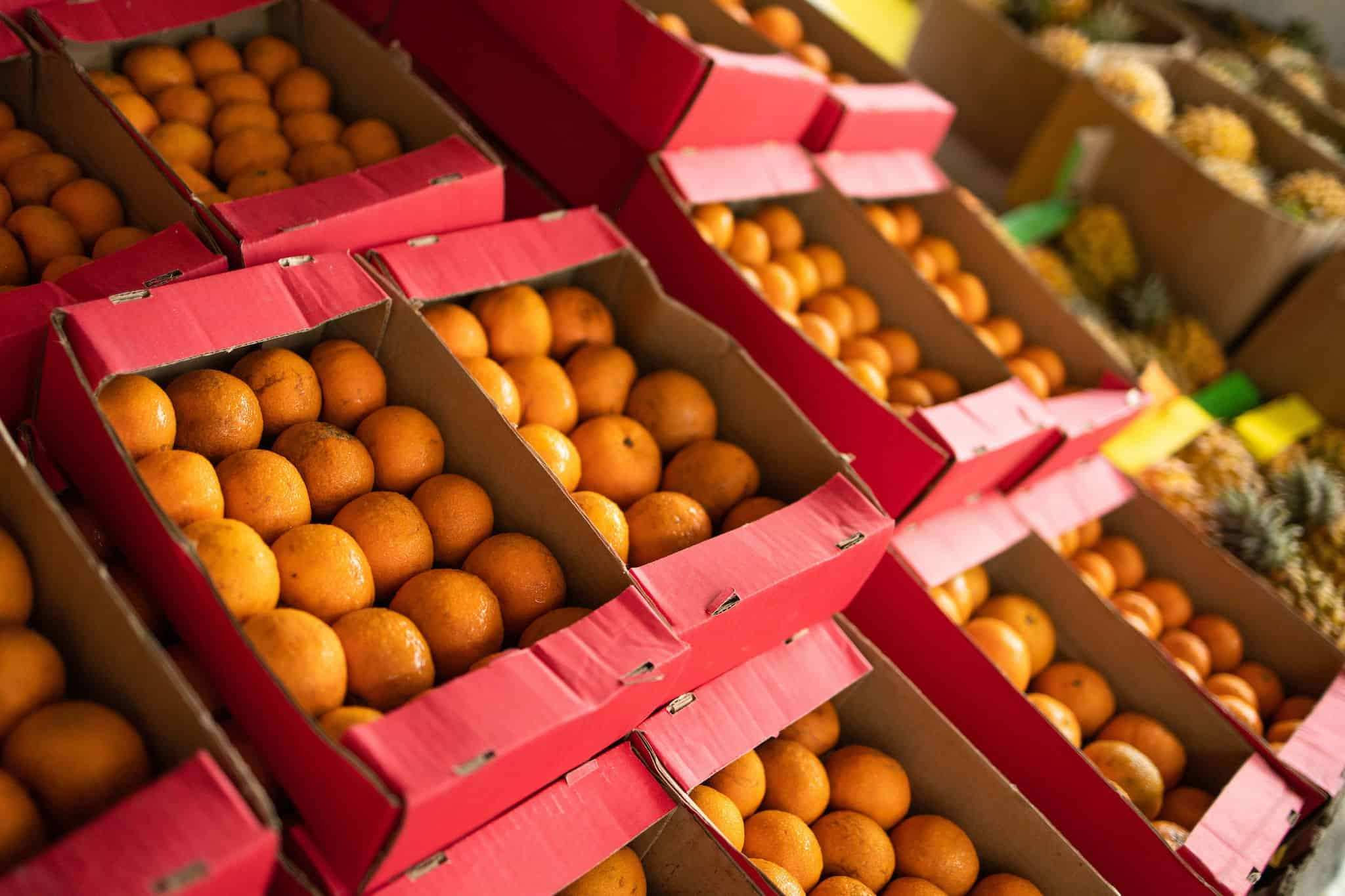 Nanaga fresh fruit boxes