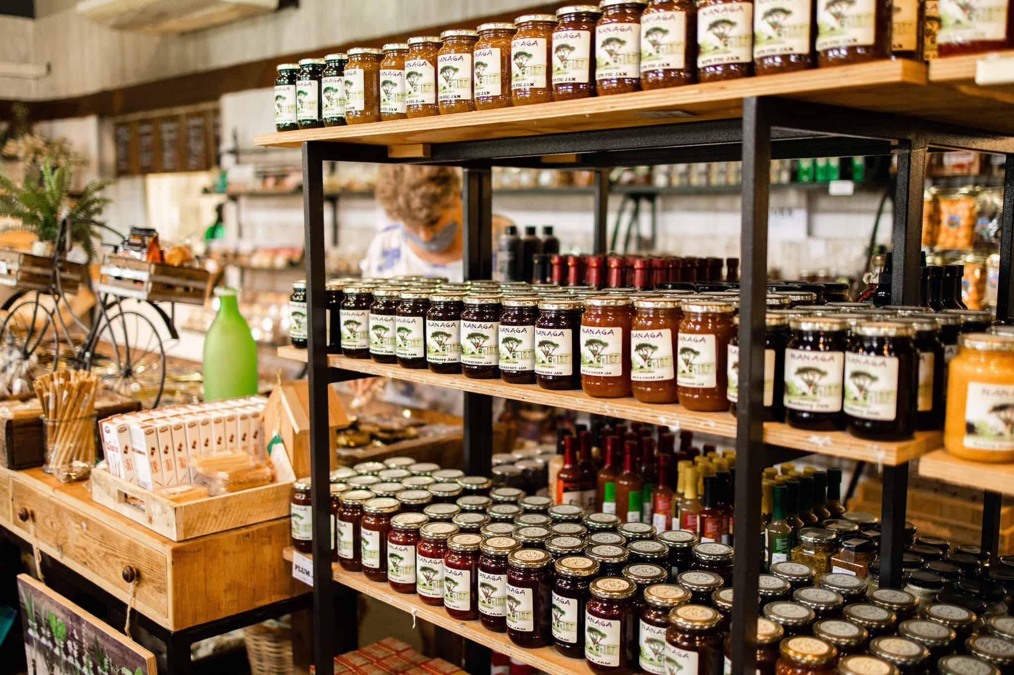 Nanaga jams and preserves